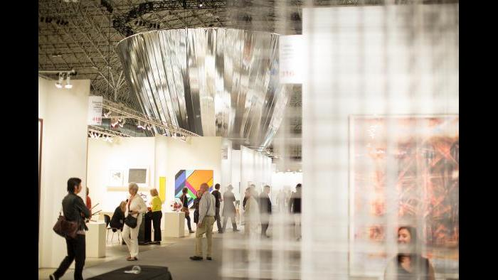 Expo Chicago 2014 at Navy Pier's Festival Hall. (Photo by Justin Barbin)