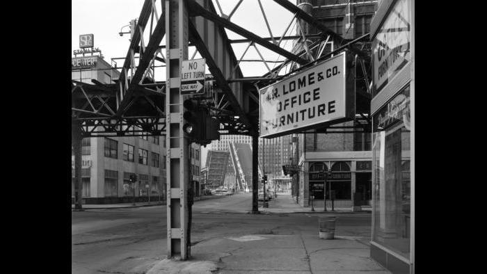 Bob Thall, Chicago (Lake and Franklin Street), 1979