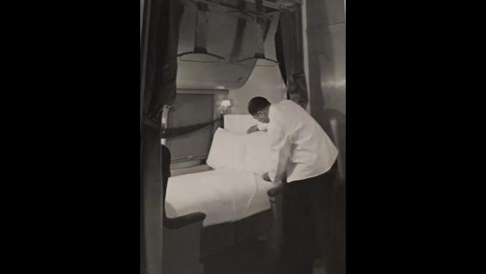 A Pullman porter, 1940s.