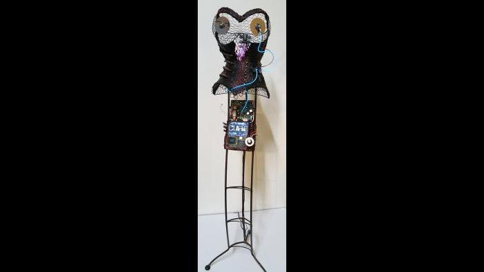 """TERMINATRIX"" by Robin Monique Rios (Courtesy of  Caren Helene Rudman)"