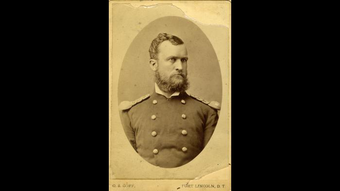 After the Battle of Little Big Horn, Captain Erasmus Corwin Gilbreath's company was sent to the Dakota Territory. (Courtesy Pritzker Military Museum)