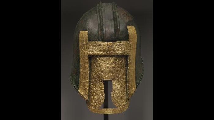 Helmet (Archaeological Museum of Pella)