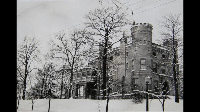 This 1926 photo was taken by the Siemens family, the fourth owners of the castle. (Courtesy of Lucinda Foulke)