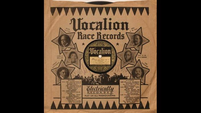 Tampa Red - Vocalion Race Record Sleeve - Tight Like That No. 2