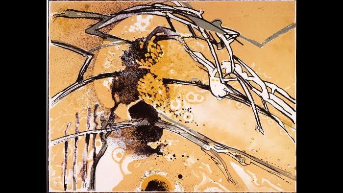 Richard Hunt, 'Thru the Branching,' 1987. (Courtesy of the Ukrainian Institute of Modern Art / Flickr.)