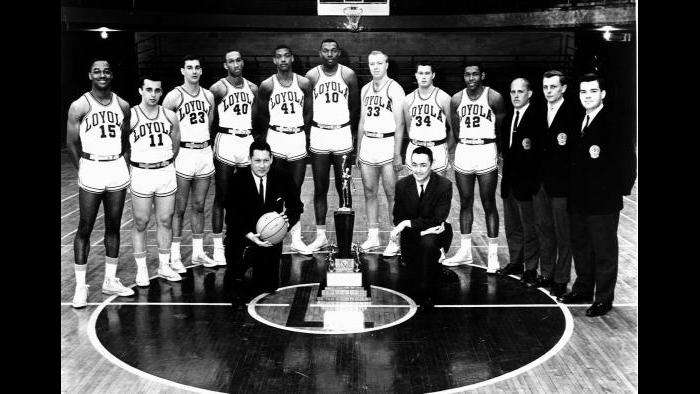 Loyola Ramblers 1963 team
