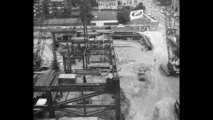 Construction Begins - 1966