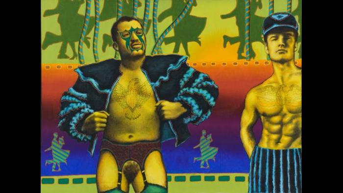 Ed Paschke, Sunburn, 1970. (Courtesy of the Museum of Contemporary Art)