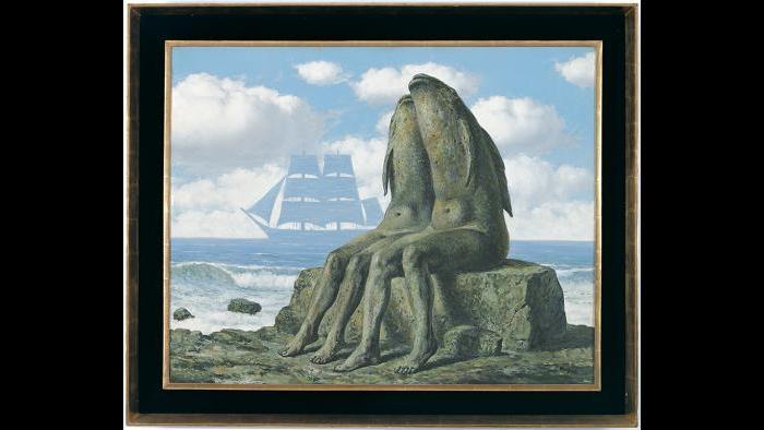 René Magritte, Les merveilles de la nature (The Wonders of Nature), 1953. (Courtesy of the Museum of Contemporary Art)