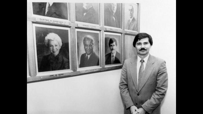 Mayor's Wall, 1987 (Courtesy David Orr)
