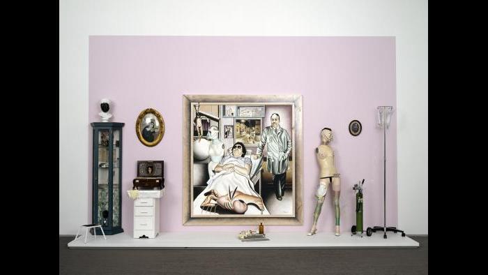 Marco Raya , Night Nurse, 1993/1996. (Courtesy of the Museum of Contemporary Art)