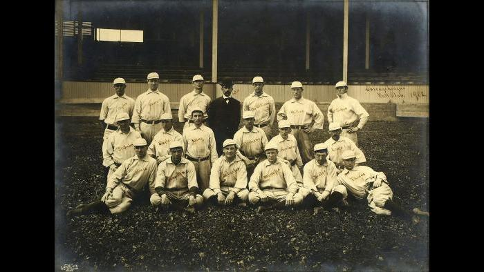 The Chicago Orphans, 1902