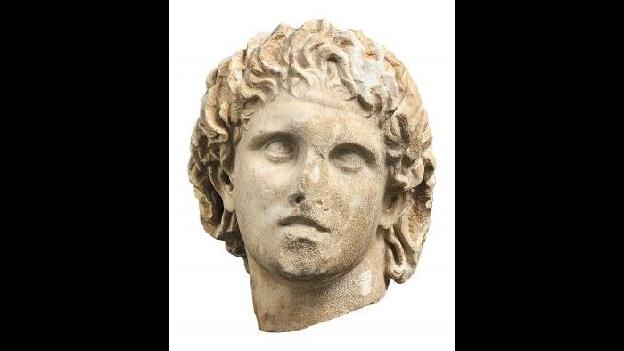 Alexander the Great Bust (Archaeological Museum of Pella)