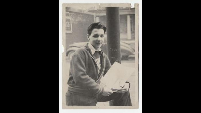 Gehry as a teenager. (Gehry Partners LLC)