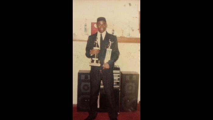 Antonio at 14 years old after graduating from John Hay Academy, headed to high school