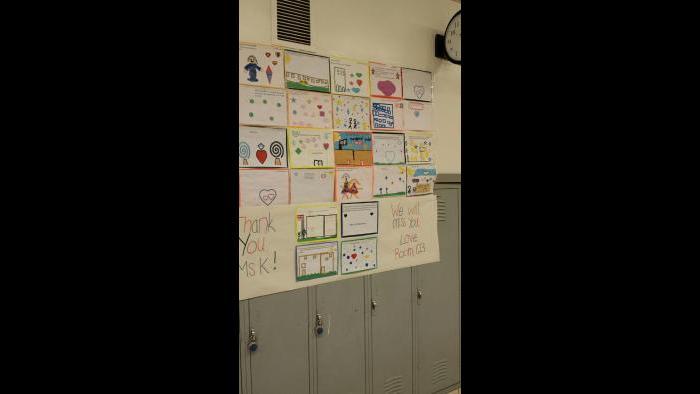Kathy Konopasek shares some of her memories as a CPS principal.