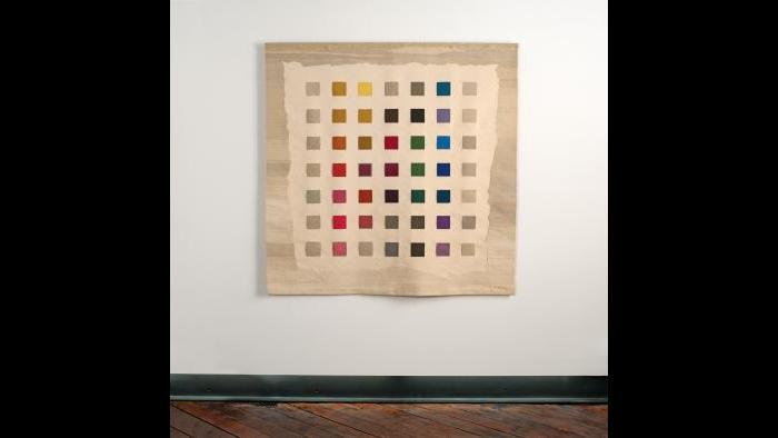 Sheila Hicks, 'Color Alphabet Tapestry,' 1982. (Courtesy of SOFA Chicago)