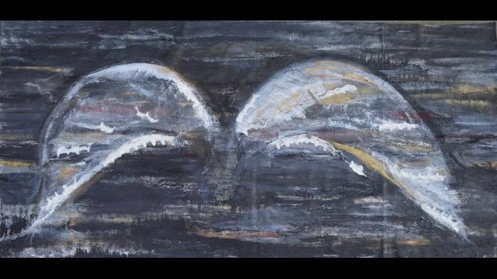 """Beneath the Sheltering Wings"" by Caren Helene Rudman (Courtesy of  Caren Helene Rudman)"