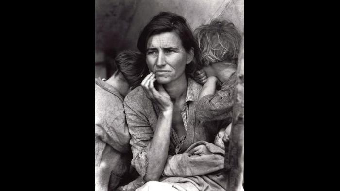 Dorothea Lange, Migrant Mother, Nipomo, California, 1936