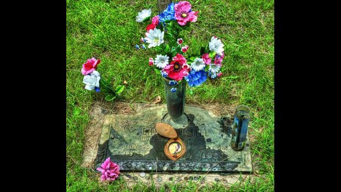 Emmett Till, Burr Oak Cemetery (Credit: Larry Broutman)