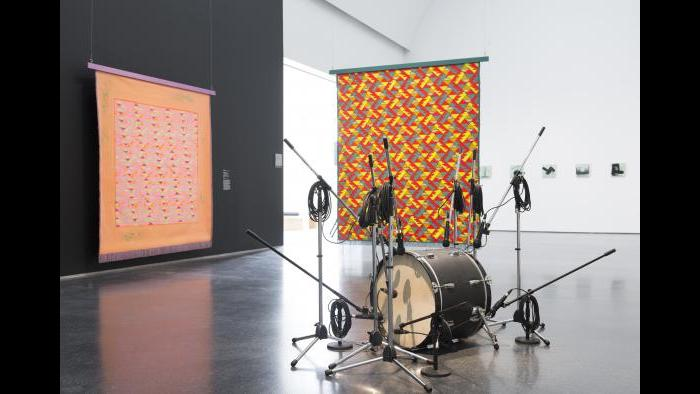 Installation view, 'The Freedom Principle' from MCA Chicago. (James Prinz Photography)<br><br><img typeof=