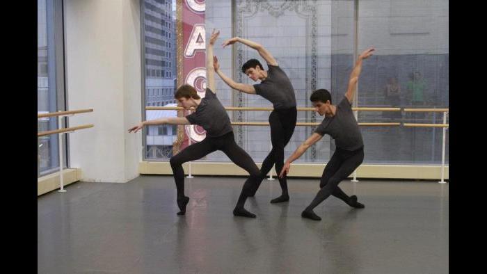 Brazilian Joffrey dancer Stefan Goncalvez dancing at Joffrey in 2012. (Courtesy Goncalvez's Facebook page)