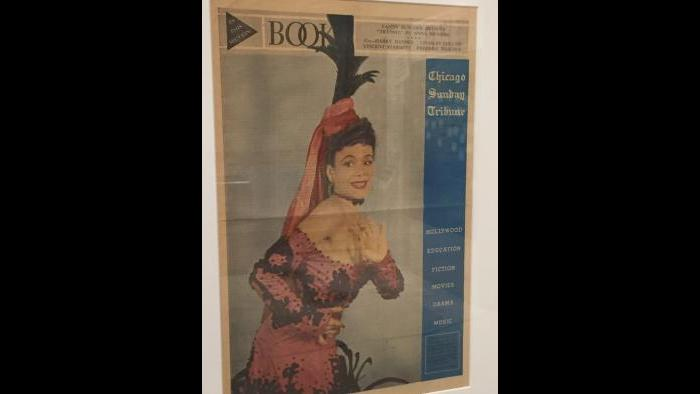 Chicago Sunday Tribune feature on Chicago dance pioneer and civil rights activist, Katherine Dunham.