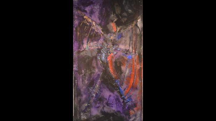 """Holding Court"" by Bert Leveille (Courtesy of  Caren Helene Rudman)"