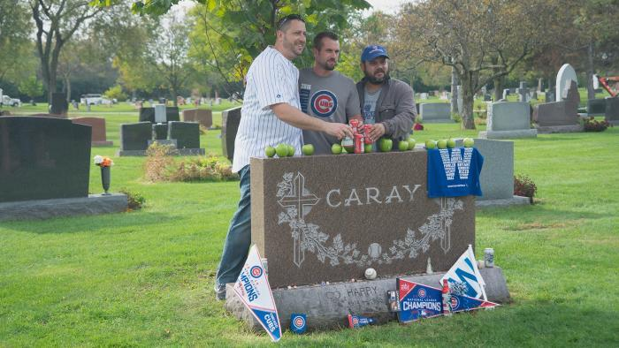 Harry Caray, All Saints Cemetery (Credit: Larry Broutman)