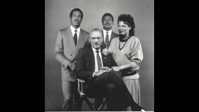 From left: Freddie Luster Jr., Fred Luster, Jory Luster, Sonja Luster-Munis.