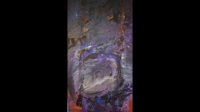 """DNA"" by Bert Leveille (Courtesy of  Caren Helene Rudman)"