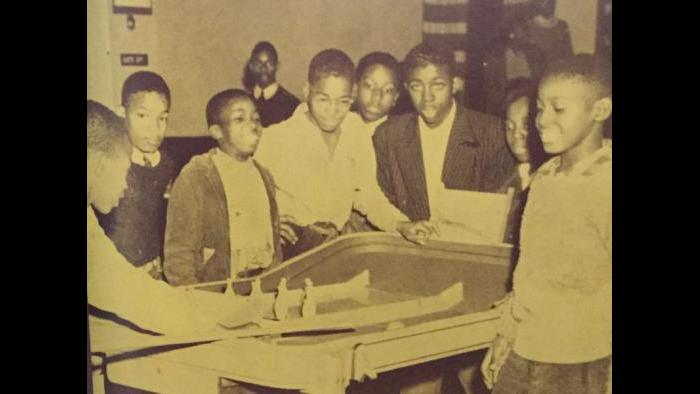 African-American children taking part in after school activities organized by the South Side Community Committee in 1949.