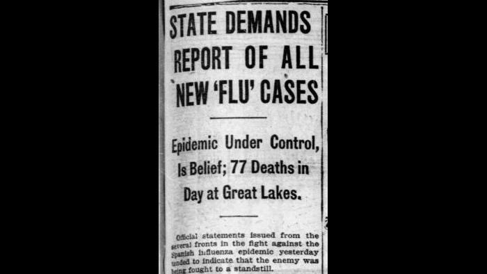 Sept. 26, 1918: Chicago Tribune archives.