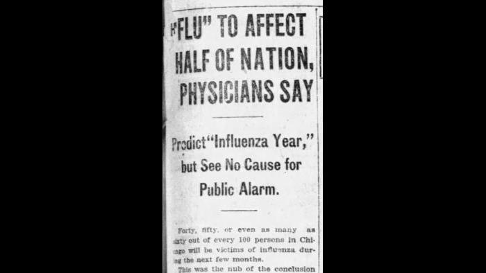 Sept. 30, 1918: Chicago Tribune archives.