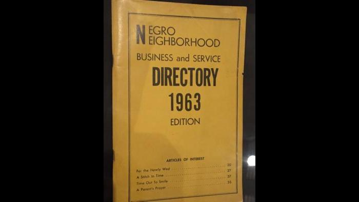Chicago Negro Neighborhood Business and Service Directory, 1963.