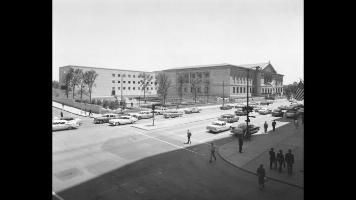 The Art Institute of Chicago in the 1950s (Courtesy of The Art Institute of Chicago)