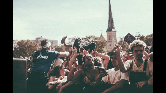 Crowds at Pitchfork 2015 (Kristina Pedersen / Pitchfork)