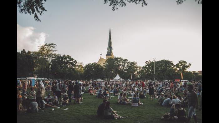 Crowds at Pitchfork 2015 (Matt Lief Anderson / Pitchfork)