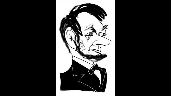 Abraham Lincoln by Tom Bachtell (Courtesy of the artist)
