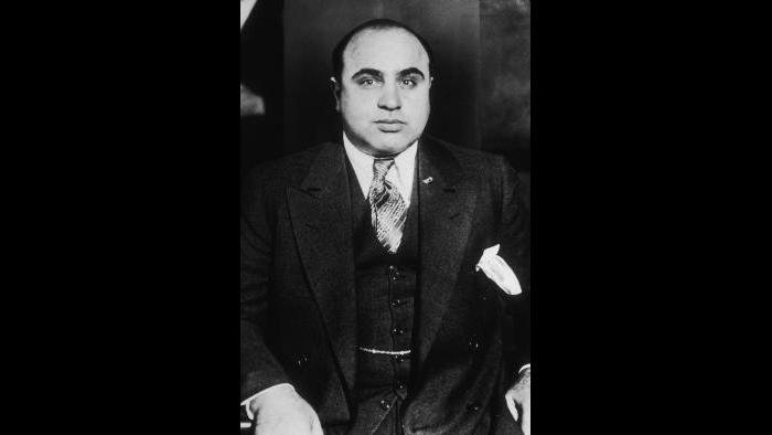 "Al Capone around 1935. (Courtesy ""Al Capone: His Life, Legacy, and Legend"")"