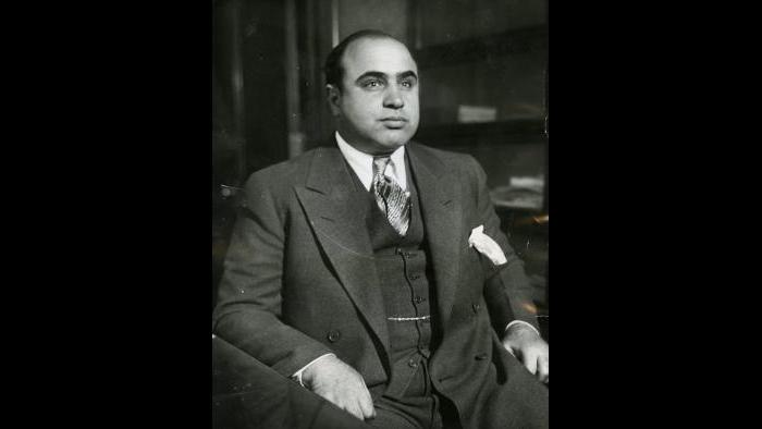 "Al Capone in 1930. (Courtesy ""Al Capone: His Life, Legacy, and Legend"")"