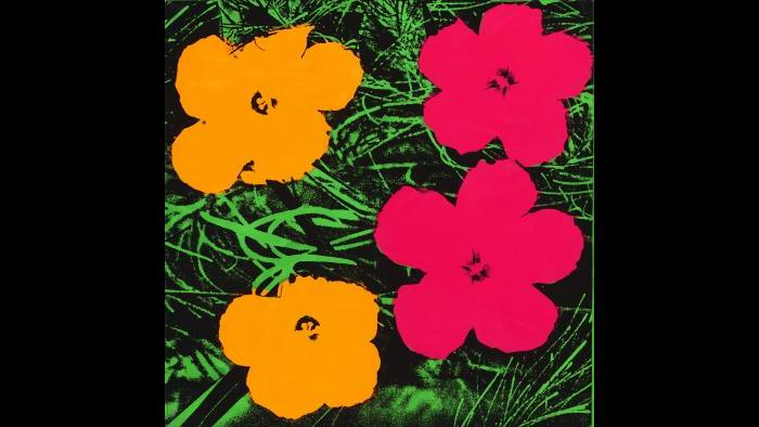 Andy Warhol. Flowers, 1964. (Courtesy of the Art Institute of Chicago, Gift of Edlis/Neeson Collection)