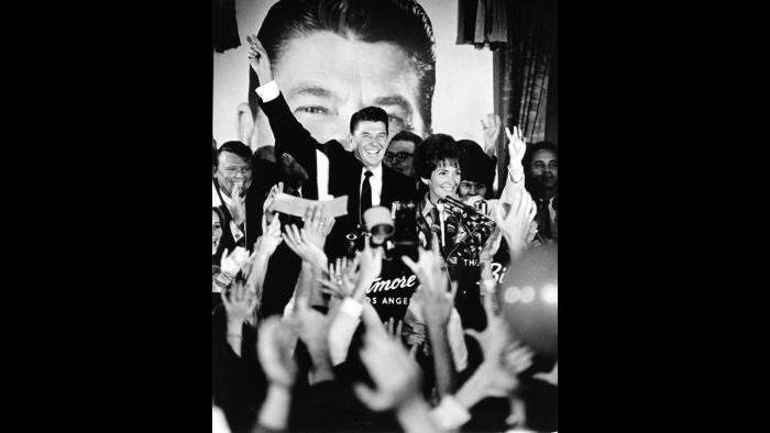 Victory celebration for governor, November 8, 1966