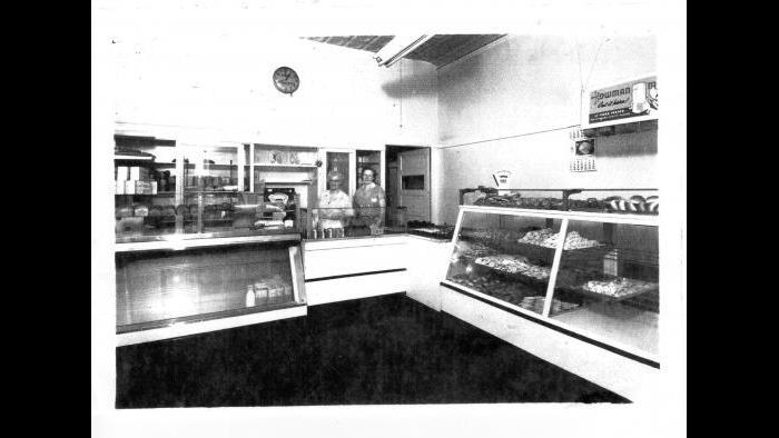 The Swedish Bakery, circa 1940. (Courtesy of Dennis Stanton)