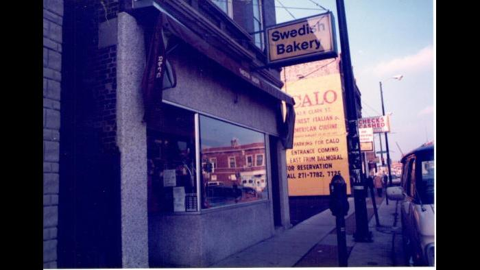 The Swedish Bakery, 1986. (Courtesy of Dennis Stanton)