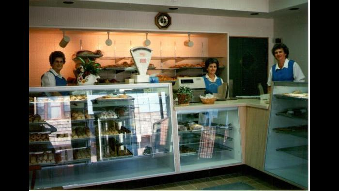 The Swedish Bakery, 1980s after remodeling. (Courtesy of Dennis Stanton)