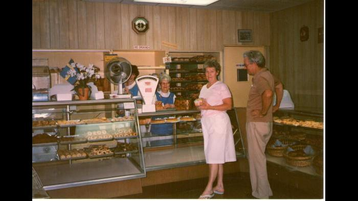 The Swedish Bakery, 1970s or '80s. (Courtesy of Dennis Stanton)