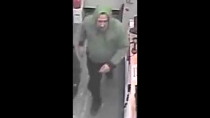 A photo taken from surveillance footage provided by the U.S. attorney's office shows a man identified by authorities as Ivan Bermudez at a Walgreens store on May 31, 2020. (U.S. attorney's office)