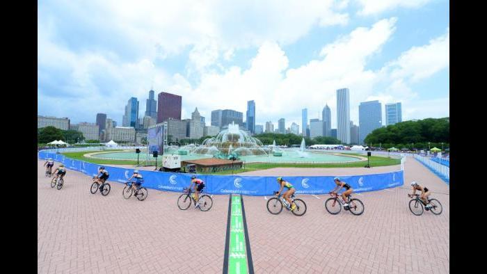 2014 ITU World Triathlon Chicago (Courtesy ITU Media)