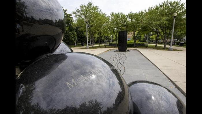 Black History Fountain (Credit: Julia Thiel)